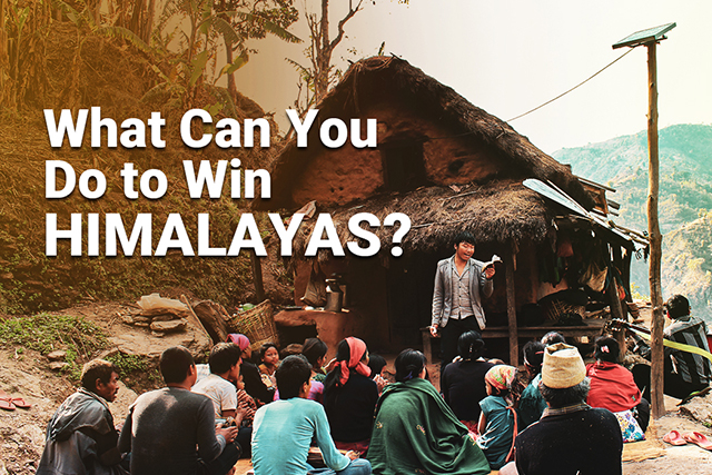What Can You Do To Win Himalayas