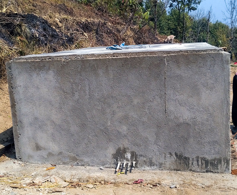 Cement Water Tank